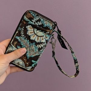 Java Blue All in one Wristlet